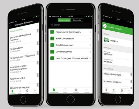 BITZER Yeni Mobil Uygulaması ile Birçok Avantajı Birlikte Sunuyor
