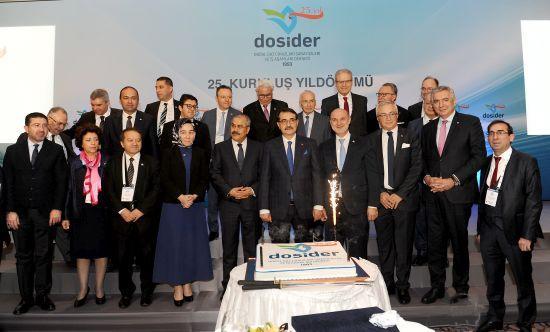 Doğal Gaz Cihazları Sanayicileri ve İş Adamları Derneği (DOSİDER), 25. Yılını Kutladı