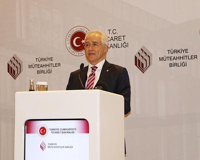 """TMB Başkanı Mithat Yenigün: """"İnşaat sektörü yurtiçinde ve yurtdışında zor bir dönemden geçiyor"""""""