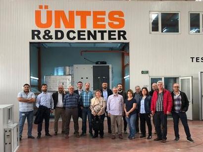 Üntes, Proje Firmalarının Yetkililerini Kahramankazan ve Saray'daki Fabrikalarında Ağırladı