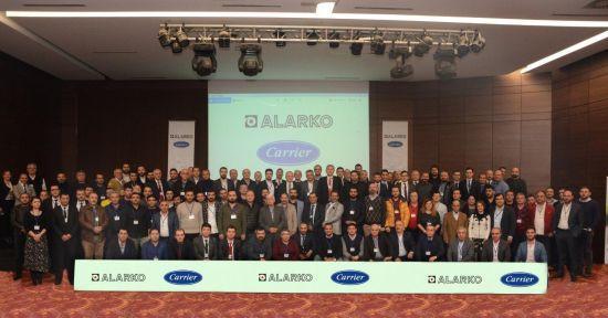 Alarko Carrier'ın Ankara Bürosuna Bağlı Yetkili Satıcıları, Yıl Sonu Toplantısında Buluştu
