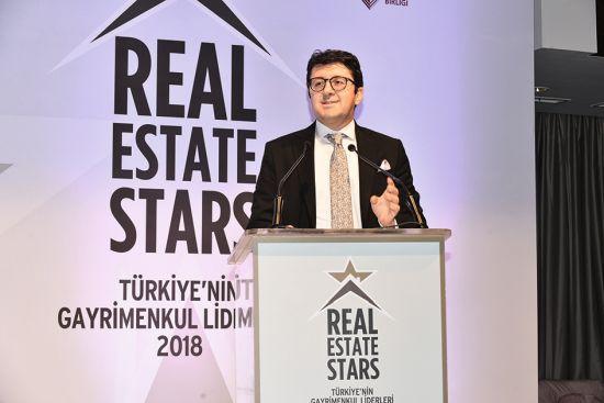 Baymak Ana Sponsorluğunda Düzenlenen Real Estate Stars 2018'de Gayrimenkul Sektörüne Yön Verenler Ödüllerini Aldı