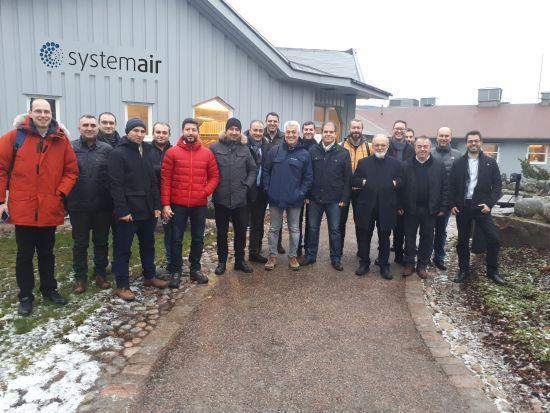 Systemair HSK, İş Ortaklarını İsveç'te Ağırladı