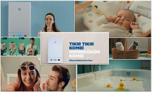 """DemirDöküm'ün Yeni Reklam Kampanyası """"Tıkır Tıkır Kombi, Demirdöküm Kombi"""" Yayımlandı"""