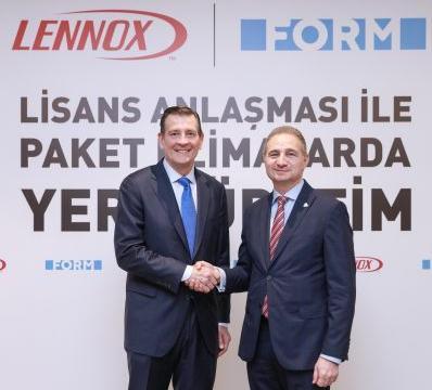 Form Şirketler Grubu ve Lennox İzmir'de Üretim Yapacak