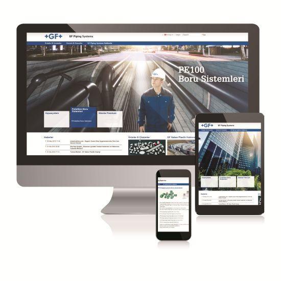 GF Hakan Plastik'in Yeni Web Sitesi Yayında