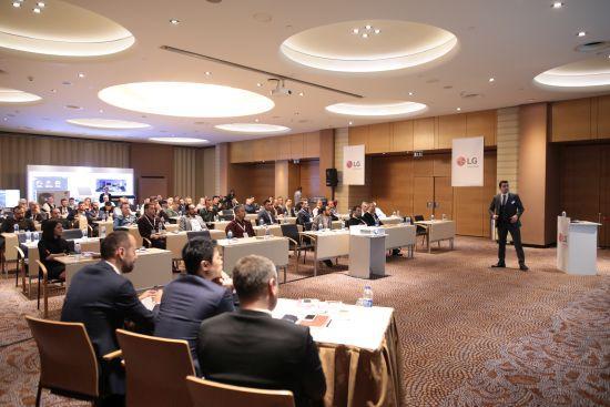 LG Türkiye, Yeni Nesil Isıtma ve Soğutma Sistemlerini İş Ortaklarına Tanıttı