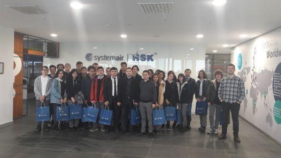 Systemair HSK, ENKA Okulları Öğrencilerini Kocaeli Fabrikasında Ağırladı