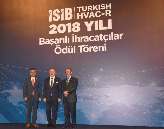 İSİB 2018 Yılı Başarılı İhracatçılar Ödül Töreni Düzenlendi
