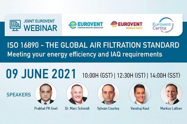 Eurovent ISO 16890 Standardını Anlatacak