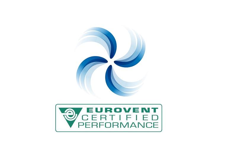 Fanlar için İlk Eurovent Sertifikası Verildi