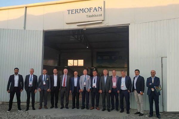 Termofan'ın Taşkent Fabrikası, İSİB Yönetimini Ağırladı