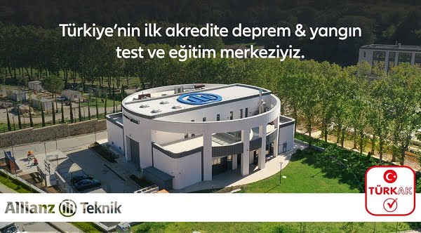 İşte Türkiye'nin İlk Akredite Deprem ve Yangın Test ve Eğitim Merkezi