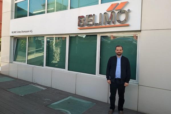 Belimo Türkiye'nin Finans ve Muhasebe Müdürü Kerim Çelik Oldu