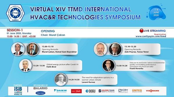 XIV. Uluslararası Yapıda Tesisat Teknolojisi Sempozyumu Videoları TTMD YouTube Kanalında
