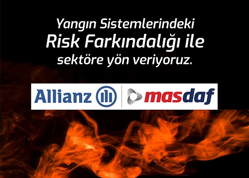 Masdaf ve Allianz Teknik'ten Yangın Riskine Karşı Farkındalık Semineri