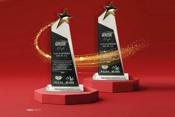 COPA'ya NOSAB'dan Çifte Ödül