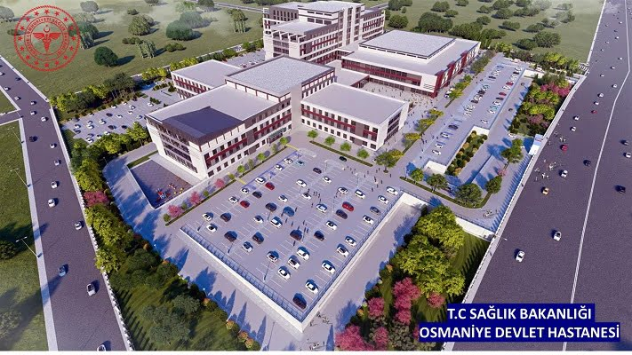 Osmaniye Devlet Hastanesi'nin Yangın Güvenliği Duyar Pompa'ya Emanet