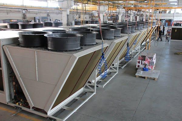 Üntes Yeni Rooftop Üretim Hattını Devreye Aldı