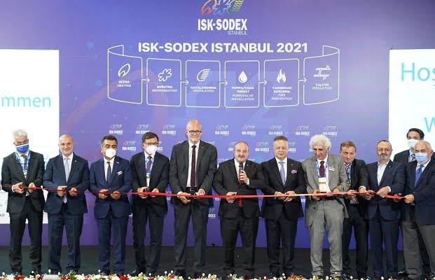 15. Uluslararası ISK-SODEX Fuarı Bakan Varank'ın Katılımıyla Başladı
