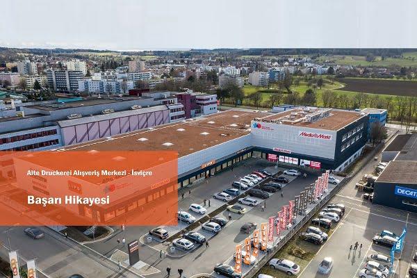 """Belimo İleri Teknolojisiyle """"Alte Druckerei Alışveriş Merkezi""""nde"""