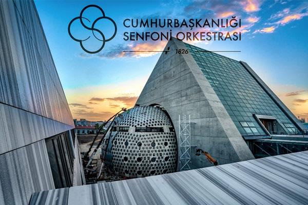 Cumhurbaşkanlığı Senfoni Orkestrası'nın Yeni Binasına Üntes İmzası