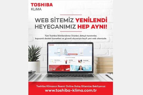 Toshiba Klima Web Sitesini Yeniledi