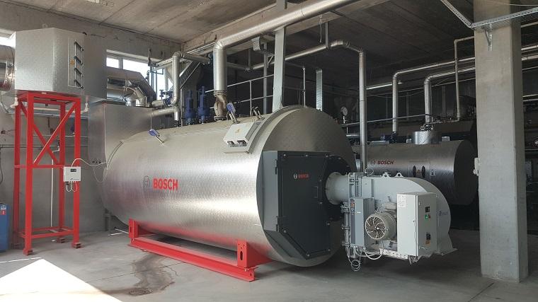 Bosch Termoteknoloji Buhar Kazanı Zeytursan Fabrikasında