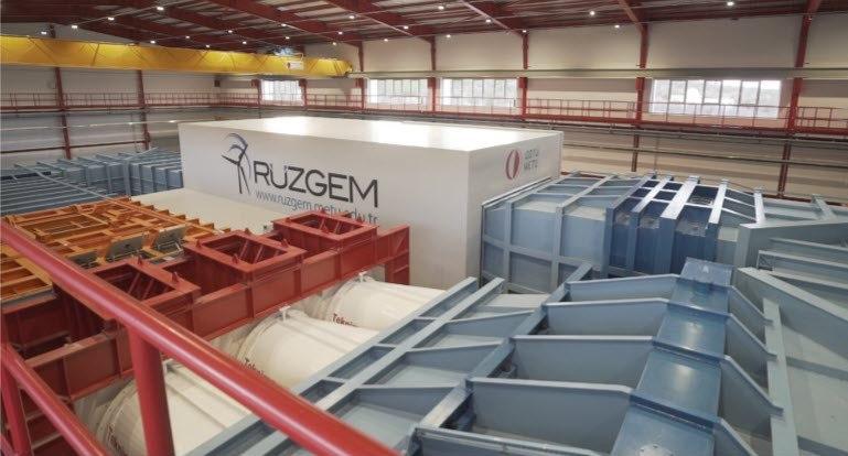 Türkiye'de Yapılan İlk Büyük Ölçekli Rüzgâr Tünelinde Danfoss Drives Çözümleri Kullanılıyor.